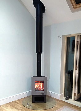We can design and install fireplaces which will enhance your home.