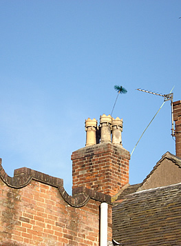 Our chimney sweeping services are carried out to ensure that our Derbyshire customers' fires work safely.