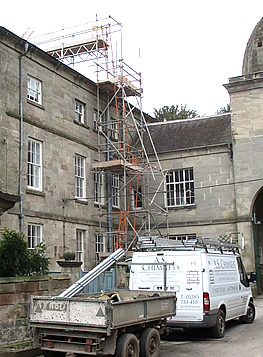 Derbyshire benefits from a wealth of listed properties, all of which will need chimney maintenance from time to time.
