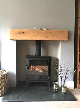 We install multi-fuel stoves throughout Derbyshire