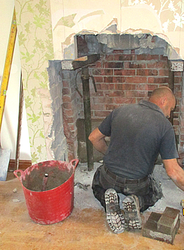 We offer comprehensive renovation services including new chimneys, fireplaces and stoves.